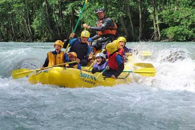 Tour di rafting in Valle Isarco