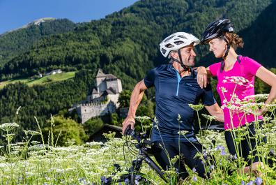 Tour in mountainbike