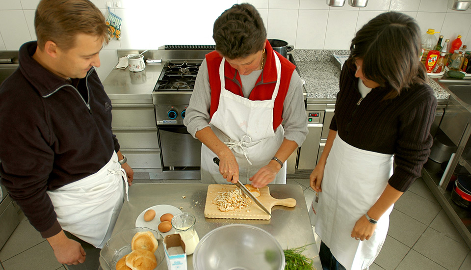 Cooking course – cook like a South Tyrolean