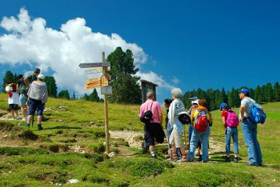 Hike to the Geisler Alm