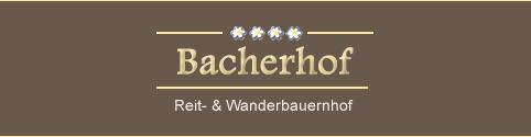 Bacherhof - Reit- & Wanderbauernhof in Pfitsch bei Sterzing